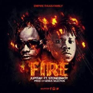 Jupitar - Fire ft. Stonebwoy